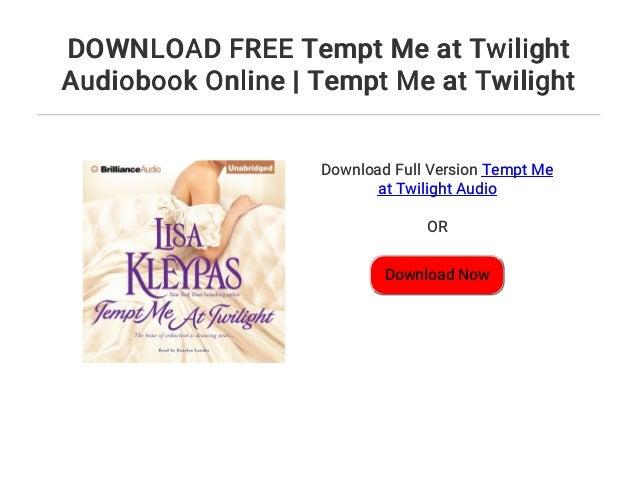 Tempt Me At Twilight Lisa Kleypas Pdf