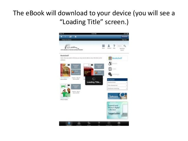 how to download overdrive to ipad
