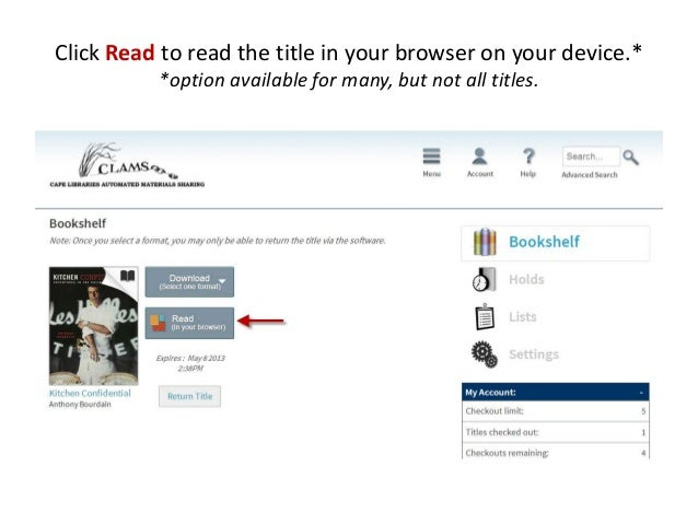 how to download books on kindle from library