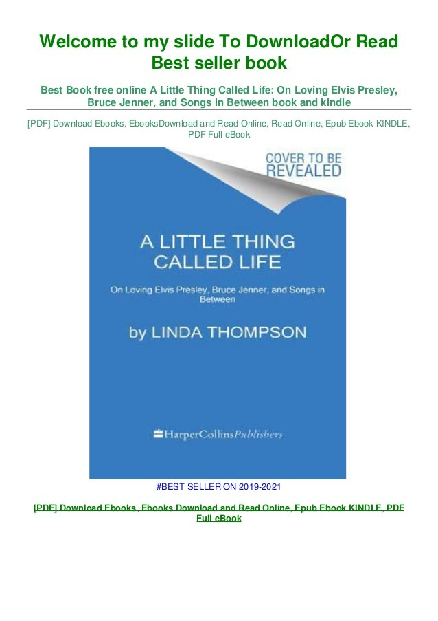 A little thing called life pdf free download pc