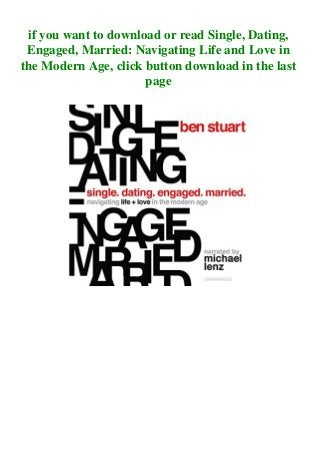 Single dating engaged married book pdf