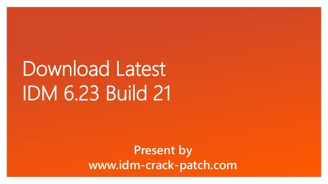 how to install crack idm 6.23