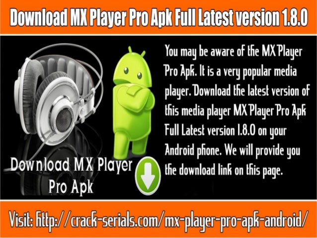 mx player pro apk free download