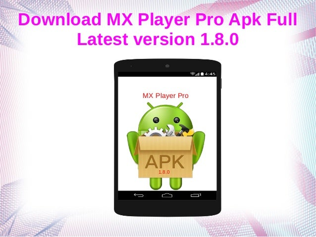 mx player download apk