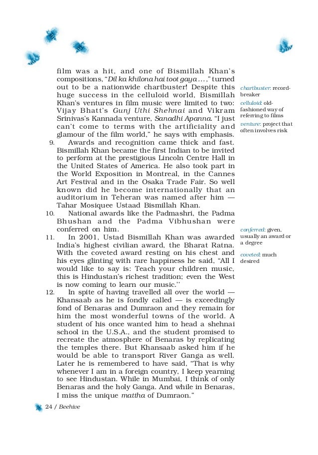 Download ncert book class 9 english-Beehive (chapters)