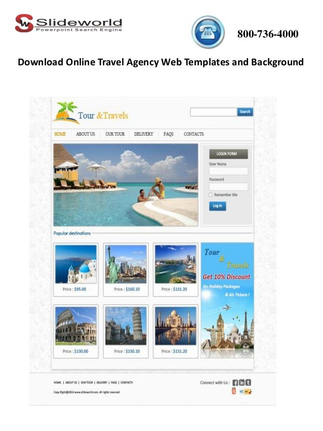 Travel Agency Ad Templates