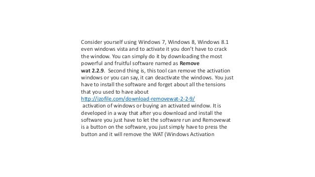 windows 8 removewat download