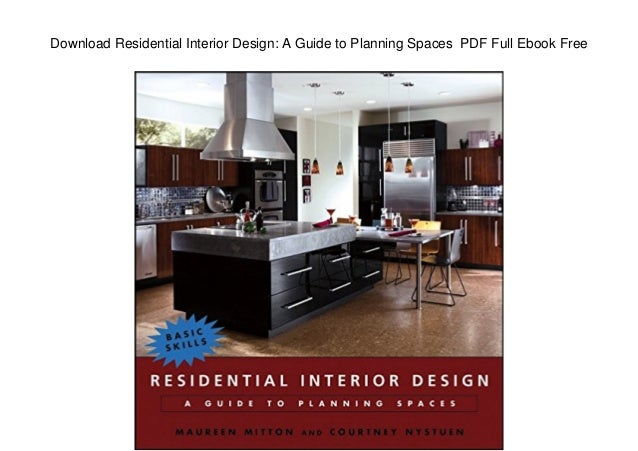 Download Residential Interior Design A Guide To Planning Spaces Pdf