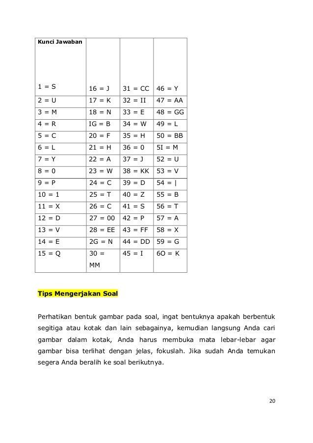 20 9 = P 24 = C 39 = D 54 = | 10 = 1 25 = T 40 = Z 55 = B 11 = X 26 = C 41 = S 56 = T 12 = D 27 = 00 42 = P 57 = A 13 = V ...