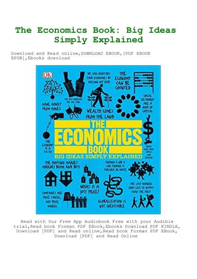 Download The Economics Book Big Ideas Simply Explained Ebook Epub