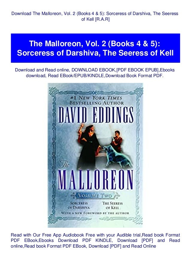 Read The Malloreon Vol 2 Sorceress Of Darshiva The Seeress Of Kell The Malloreon 4 5 By David Eddings