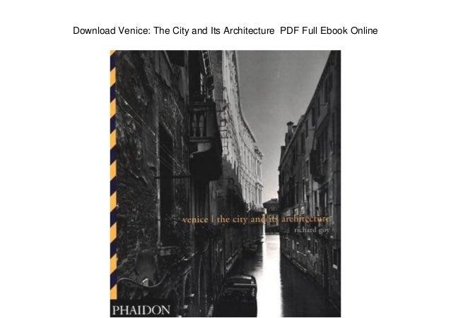 Architectural history of venice pdf creator