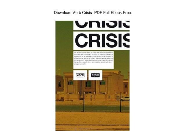 Download Verb Crisis PDF Full Ebook Free