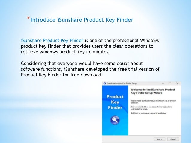 Download windows product key finder to get your lost product
