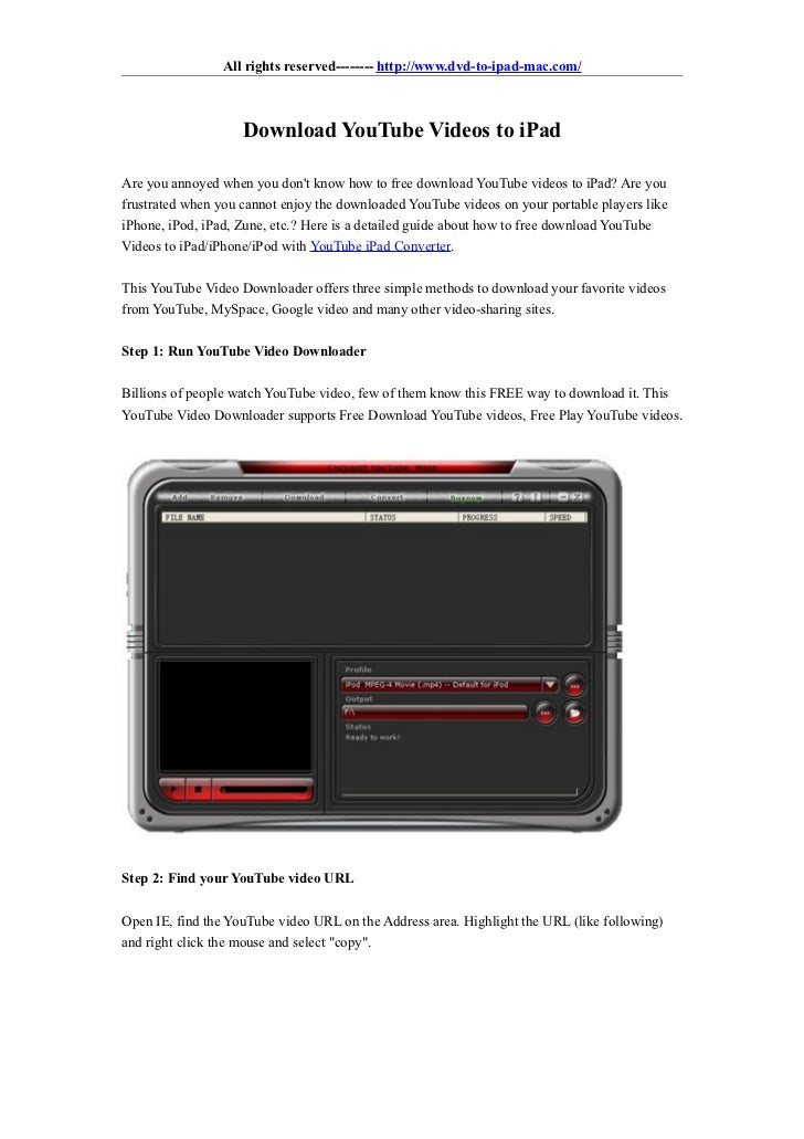 Download youtube videos to ipad download youtube videos to ipad all rights reserved httpwww ccuart Image collections