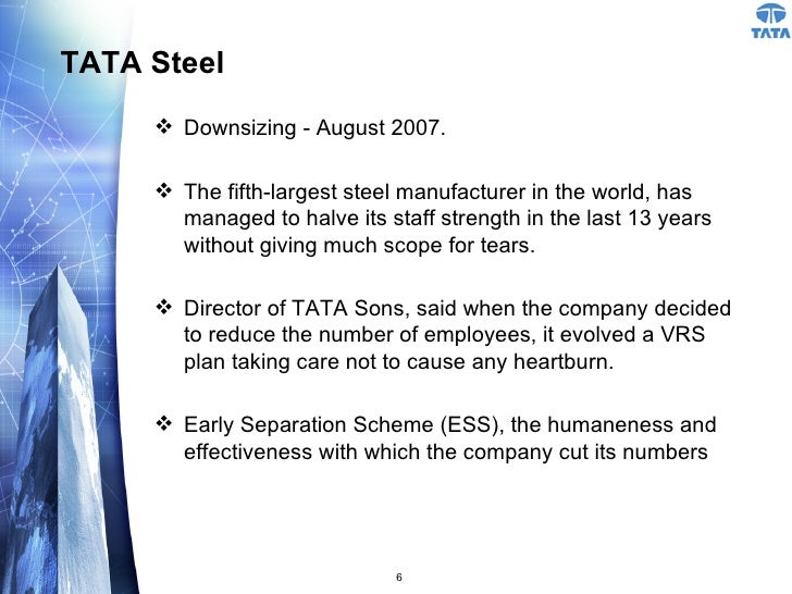downsizing strategies Downsizing 1 downsizing 2 contents 1 what is downsizing 4 downsizing in tata steel 3 downsizing strategies 5.
