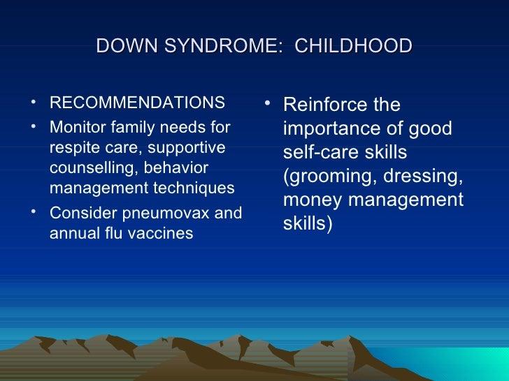 Down's syndrome, trisomy 21