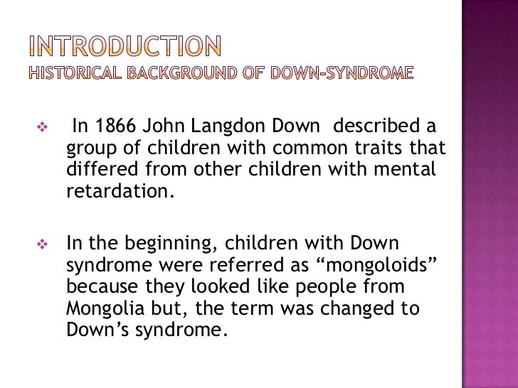 down syndrome presentation features traits of children down syndrome