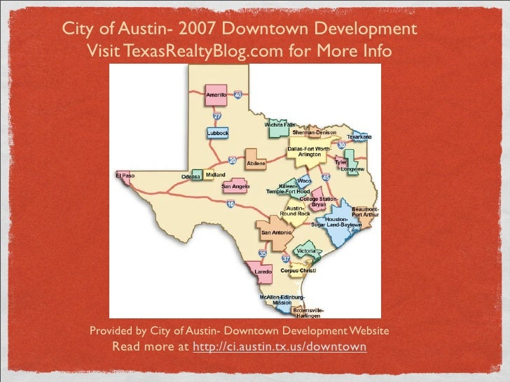 City of Austin- 2007 Downtown Development    Visit TexasRealtyBlog.com for More Info        Provided by City of Austin- Do...