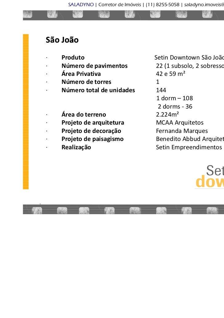 SALADYNO | Corretor de Im€veis | (11) 8255-5058 | saladyno.imoveis@gmail.com                                              ...