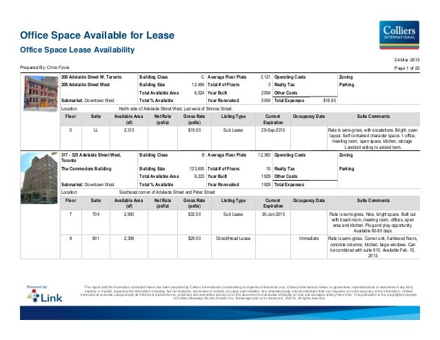 Office Space Available for LeaseOffice Space Lease Availability                                                           ...