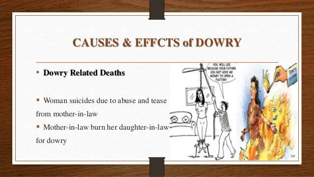 dowry crimes Journal of gender, social policy & the law volume 11|issue 2 article 20 2003 criminalizing dowry deaths: the indian experience judith g greenberg.