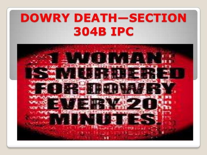 Dowry death Slide 3