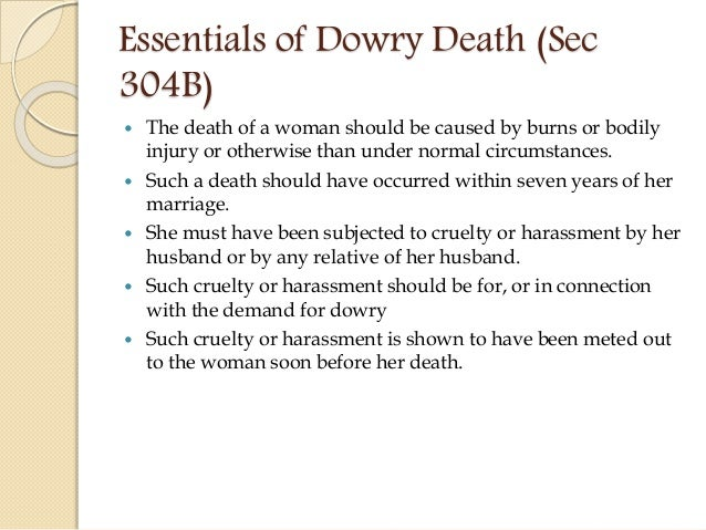 dowry death meaning in hindi