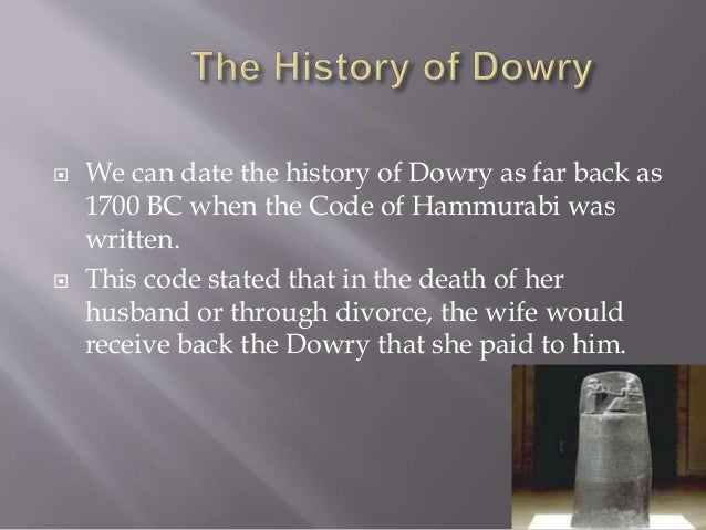 The dowry system in india youtube.