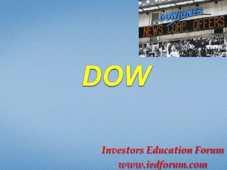 Investors Education Forum   www.iedforum.com