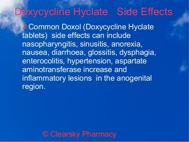 Doxol (Doxycycline Hyclate Tablets)
