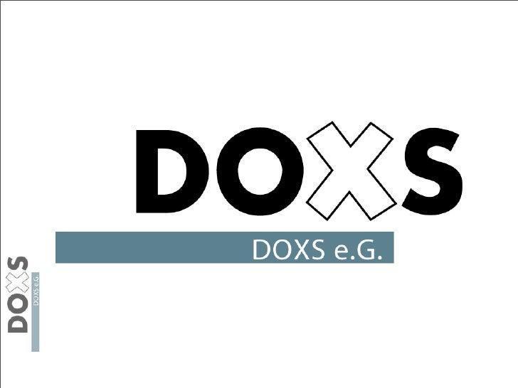 Zugang DOXS CRM DOXS Dokumentenmanagement  1. Schritt - http://portal.doxs.eu