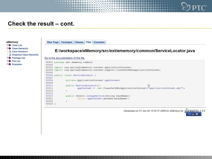 Doxygen source code documentation generator tool check the result cont ccuart Choice Image