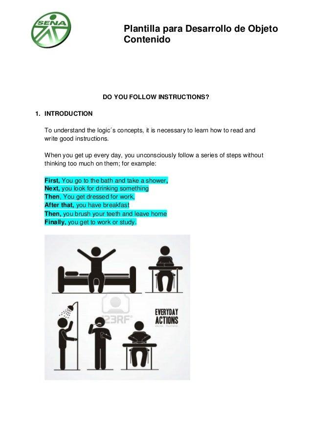 Do You Follow Instructions
