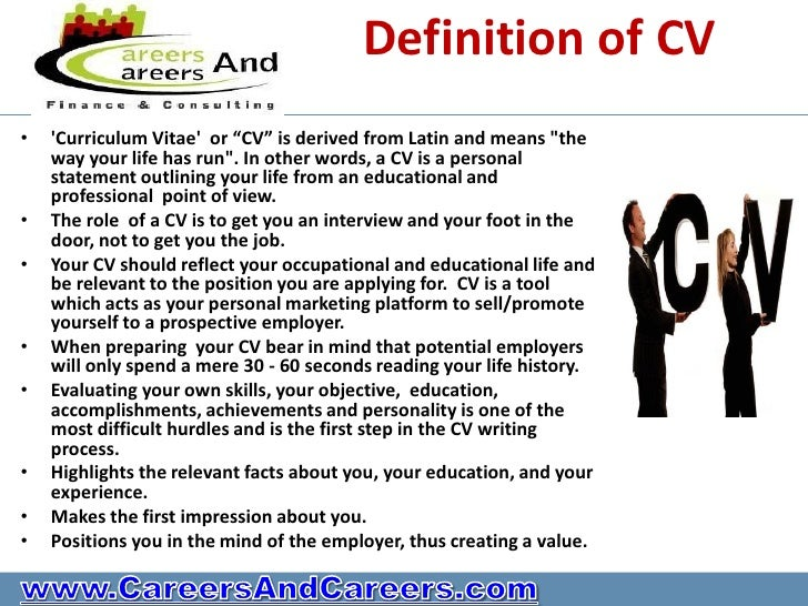 do you have a killer cv