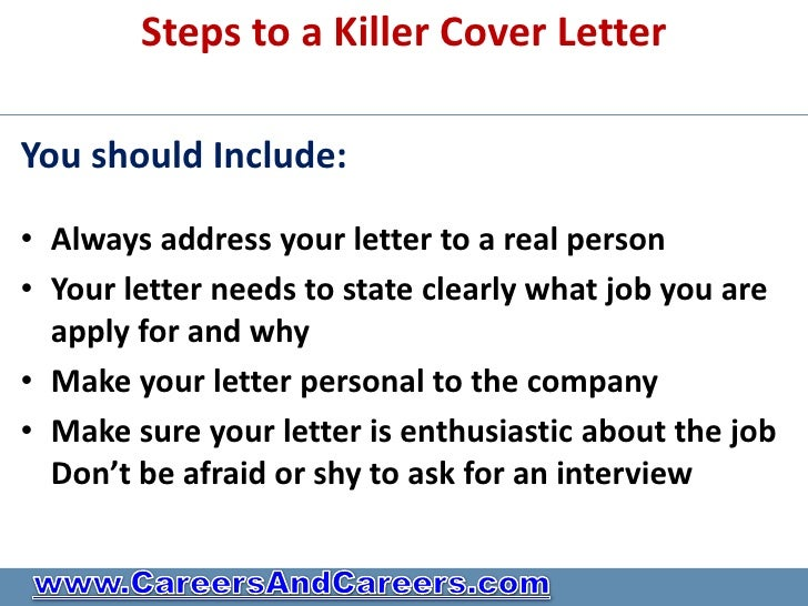 Do you have a killer cv or need professional help for Should you always include a cover letter