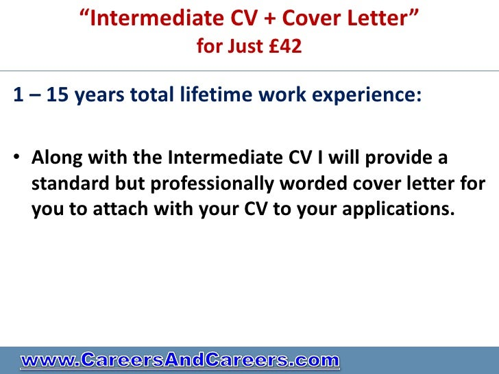 Cover Letter Example Cover Letter Sample Intermediate Experienced Level