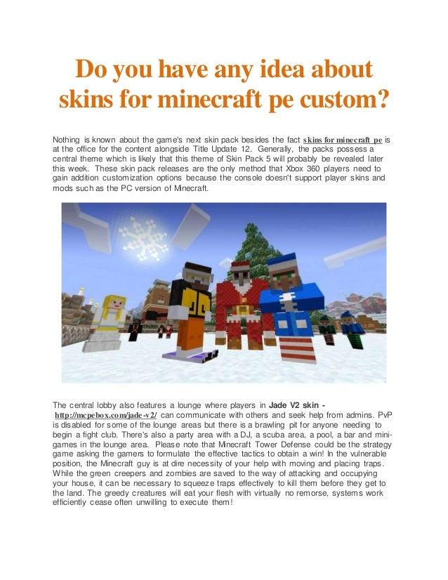 how to make a custom minecraft skin