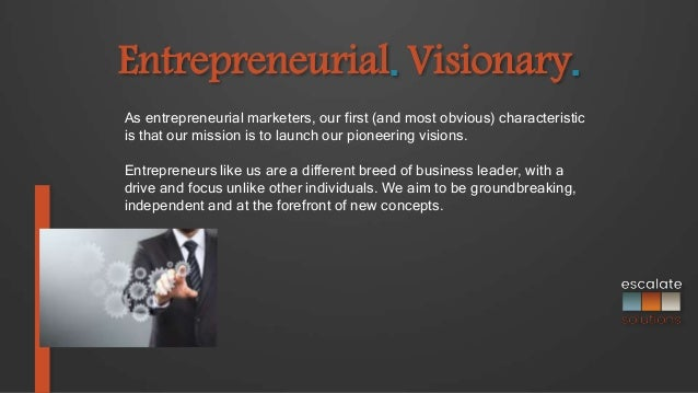 definitive definition. escalate solutions - definitive definition of entrepreneurial marketing