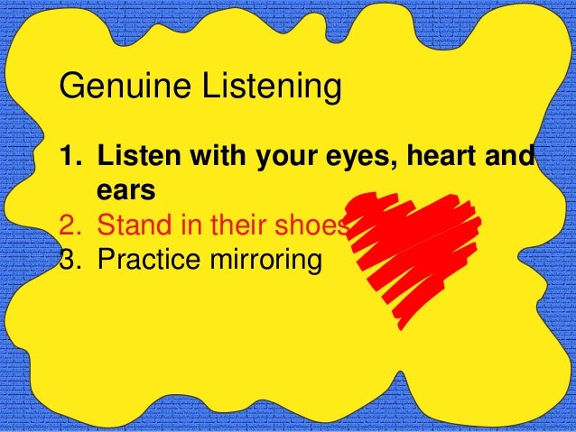 Mirroring vs. MimickingMimicking is . . .       Mirroring is . . .• repeating words        • repeating meaning            ...