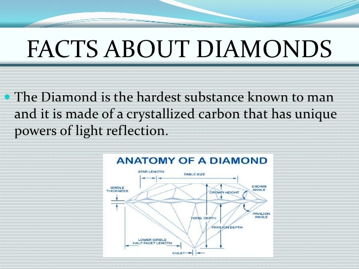 Do You Know Anything About Diamonds