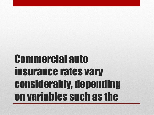 Does commercial car insurance cost more 15