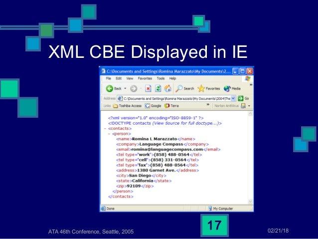 Do You Speak XML? Part 2