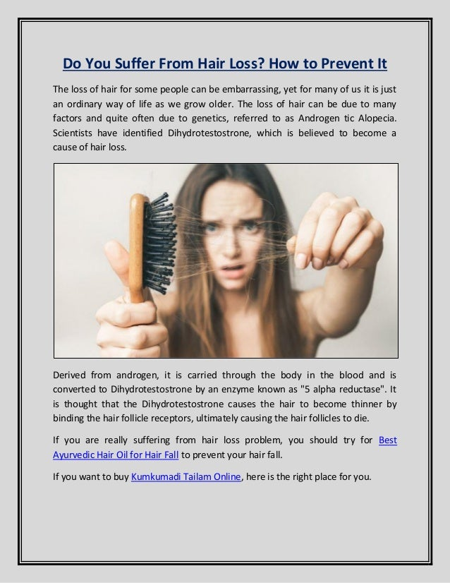 can genetic hair loss be prevented