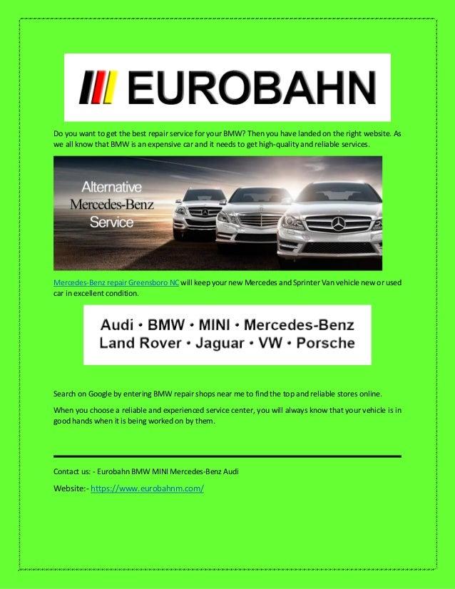 Eurobahn Bmw Mini Mercedes Benz Audi