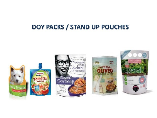 DOY PACKS / STAND UP POUCHES