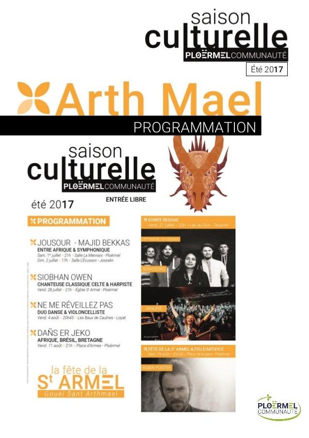 Été 2017 PROGRAMMATION