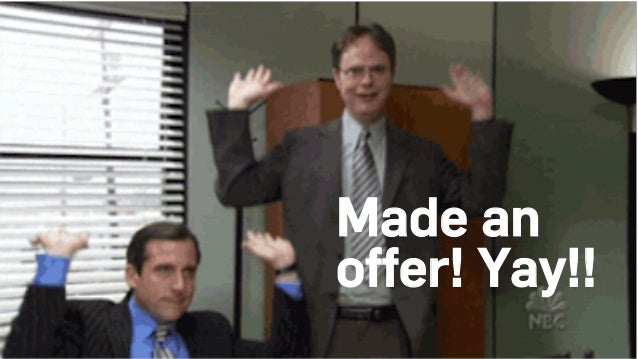 Made an offer! Yay!!