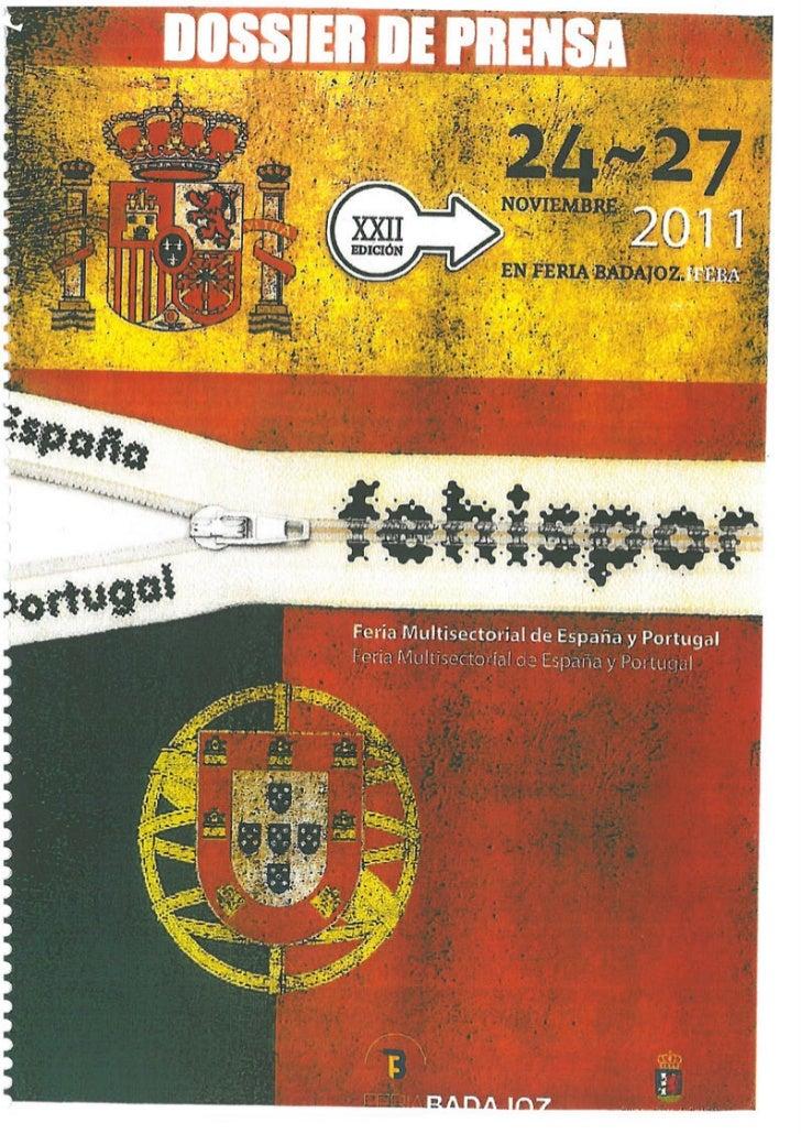 Dossier de Prensa FEHISPOR 2011