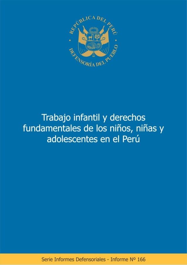 ÍNDICE INTRODUCCIÓN CAPÍTULO I LA PROTECCIÓN DE LA NIÑEZ Y ADOLESCENCIA EN EL ÁMBITO DEL TRABAJO 1.1. La obligación de pro...